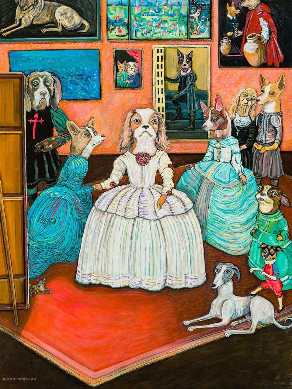 Las Meninas de los perros