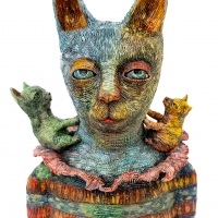 Rainbow Cat (front)